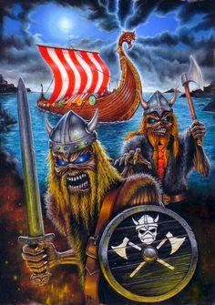 art matter of life and death 3 Fotos insolitas de Iron Maiden (Megapost)