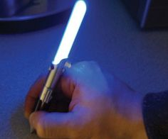 Star Wars Lightsaber Pen  Use the Force to help you ace that exam you totally forgot to study for by taking it with the Star Wars lightsaber pen. The pen comes with an eyecatching lightsaber design that actually lights up the moment the tip touches the paper.  $14.10  Check It Out  Awesome Sht You Can Buy