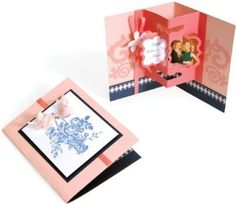 Amazon.com: Sizzix 657129 Bigz 3-D Pop-Up Card with Floating Frames Die: Arts, Crafts & Sewing