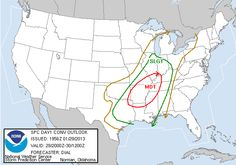 Tornado Threat Tonight, 10 States Affected By Watch