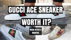 4023e60b79b Mens Gucci Ace Sneaker Wear   Tear Are They Worth