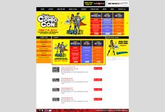 Comic Con India -tickets