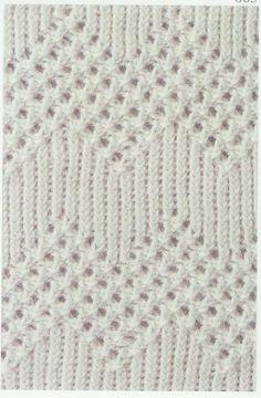 Lace Knitting Stitch #63