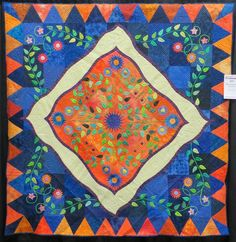 Cathy Geier's Quilty Art Blog: Bed and Wall Quilts - Albuquerque 2015
