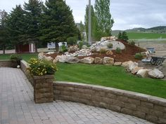 hardscaping ideas for front yard via kimberly nurseries landscape irrigation - Hardscape Design Ideas