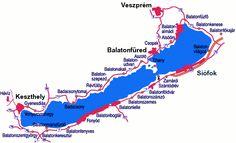 balaton | Towns and villages alongside Lake Balaton