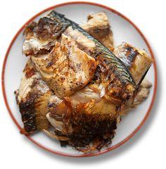 Скумбрия на гриле (Balik ekmek)