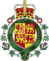 Llywelyn the Great Prince of Wales,  Royal Badge of Wales based on the arms borne by Llywelyn