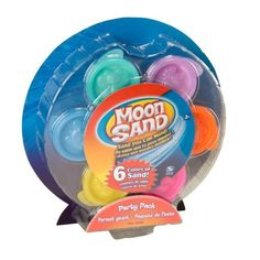 Amazon.com: Moon Sand Party Pack - 6 Different Colors: Toys & Games