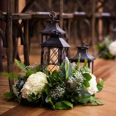 Simple floral accompanied with these lanterns were the perfect combo for our wedding at Skyline Loft, Ann & Kam Photography