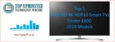 The year 2018 is probably the year of High Dynamic Range 10 or With that in mind, we listed our top 5 Ultra HD Smart TVs Under That's right, Ultra HD TVs. Smart Tv, Tvs, Budget, Technology, Tech, Tecnologia, Budgeting, Tv