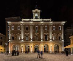 Rieti municipal building – Rieti, Italy- Lighting products: iGuzzini…