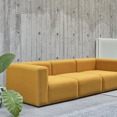 Mags sofa by Hay is composed of modular units of different sizes. haus® is an authorised London stockist of Hay Denmark. Modules can be configured to fit any room and need.