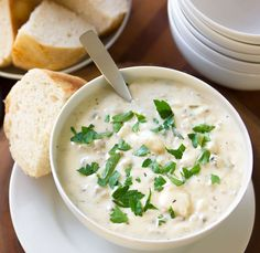 Easy, creamy, classic clam chowder recipe from Nordstrom. Photo by Jeff Powell.