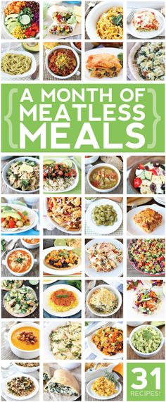 31 Meatless Meals + Your Full September Round-up!