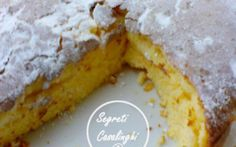 panettone morbido gusto limone #panettone #limone #torta #limone