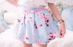 Imagem de fashion, skirt, and pink