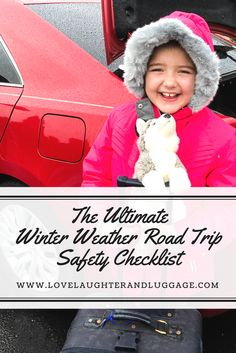 When winter weather strikes when you are on that road trip, will you be prepared?  Here is a safety checklist to help you get ready to drive in rain, sleet, or snow. #shop Tires, Goodyear, #WeatherProven, Branson, Old Time Christmas, battery, jumper cables. #ad