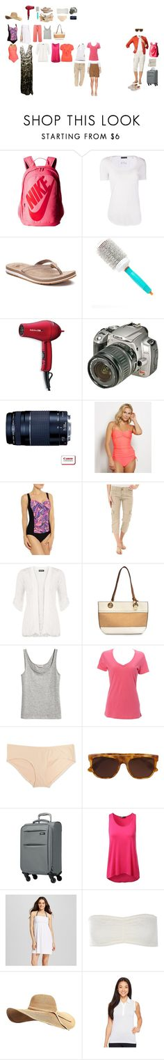 """""""Vegas September 2017 packing list"""" by donovan-heather on Polyvore featuring NIKE, ATM by Anthony Thomas Melillo, New Balance, Moroccanoil, BaByliss Pro, Sanctuary, WearAll, Nicole Miller, Simplex Apparel and Motherhood Maternity"""
