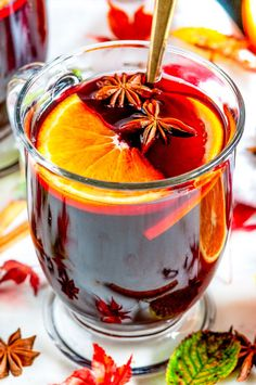 Spiced Holiday Mulled Wine - Simple and quick spiced mulled wine done on the stove in just 20 minutes! The perfect warm beverage for a cold, stormy day. From aberdeenskitchen.com #spiced #holiday #mulled #wine #beverage #drink #cocktail #recipe #autumn #fall #winter #christmas #thanksgiving