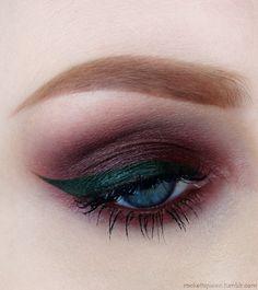 Purple eyeshadow - #Makeup