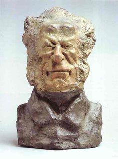 """""""Baron Jacques-Antoine-Adrien Delort"""", Sculpture by Honoré Daumier"""