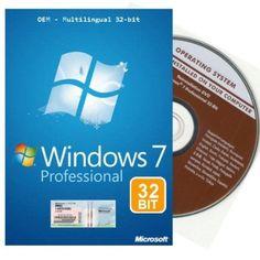 Windows 7 Professional 32 bit Reinstallations-DVD multilingual 32 Bit, Operating System, Printer, Software, Windows, Website, Ss, Printers, Window