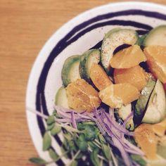 orangeとavocado❤︎ 相性はぃぃのですne❤︎❤︎  あ➖ぉぃしかった♡(❀ฺ´ω`❀ฺ)♡~ ごちそぅさん。 - 112件のもぐもぐ - sasaちゃんこさんの料理 アボカドとオレンジのサラダ by yUkio816hUg