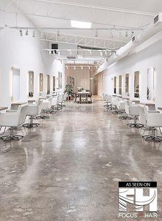 Beauty Salon Interior Hairdressing Skin Shop Nail Shop Color By: Beauty Salon Decor, Beauty Salon Design, Blush Hair Salon, Gorgeous Hair Salon, Hair Expo, Esthetician Room, Barber Shop Decor, Hair Salon Interior, Barbershop Design
