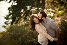 Kelsey Michelle Photography, Deception Pass Engagement, Skagit County Wedding Photographer, Bellingham Wedding Photographer, Whatcom County Wedding Photographer, Golden Light Engagement, What To Wear Engagement Shoot, Romance Engagement Shoot, Ocean Engagement, Coastal Engagement