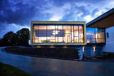 link arkitektur builds national music museum in norway - designboom | architecture