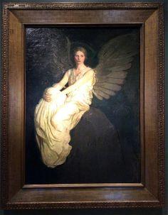 Stevenson Memorial, oil on canvas, by Abbott Handerson Thayer, at the Smithsonian American Art Museum, Washington DC