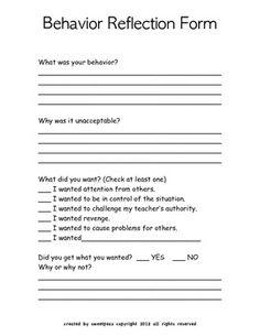In School Suspension Forms In-School Suspension S...