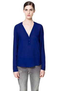 Image 1 of POLO NECK SHIRT from Zara