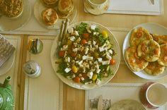 petiscosemiminhos: A minha cozinha e uma salada de curgete grelhada