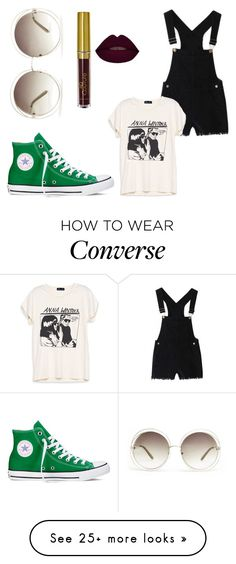 """"""""""" by calley1501 on Polyvore featuring Converse and Chloé"""