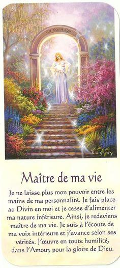Maitre de ma vie Positive Attitude, Positive Thoughts, Messages Spirituels, Religion, Plus Belle Citation, Bible Pictures, Self Empowerment, Design Your Life, Auras