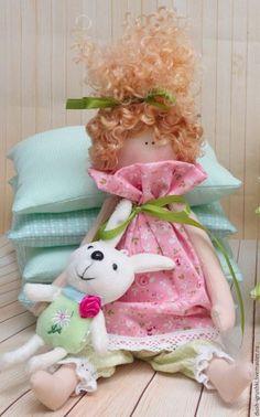 Купить Принцесса на горошине - комбинированный, принцесса, Принцесса на горошине, принцесса тильда, тильда, тильда кукла