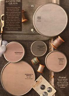 28 Best Ideas For Farmhouse Bathroom Paint Colors Mindful Gray Bathroom Paint Colors, Interior Paint Colors, Paint Colors For Home, Paint Colours, Interior Design, Wall Colors, House Colors, Mindful Gray, Paint Color Schemes