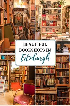 12 Beautiful Edinburgh Bookstores — One Step Wanderer - Whether you're just looking for a new read, wanting to spend an afternoon browsing winding stacks - Edinburgh Castle, Edinburgh Scotland, Scotland Travel, Scotland Trip, London Bookstore, Cafe Window, Literary Travel, Book Works, The Beautiful Country