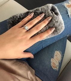 Fluffy case from Girls Best Friend, Jewelery, Wedding Rings, Engagement Rings, Diamond, Nails, Instagram, Fashion, Jewels