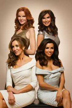 Desperate Housewives: Bree, Susan, Lynette, and Gaby