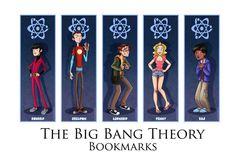 The Big Bang Theory bookmarks