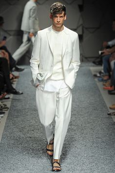 Z Zegna Spring 2014 Menswear Collection Slideshow on Style.com