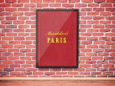 A personal favorite from my Etsy shop https://www.etsy.com/listing/450853376/vintage-1800s-classic-travel-paris
