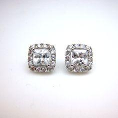 Set of 5 bridal earrings wedding jewlery prom by DesignByKara, $119.00