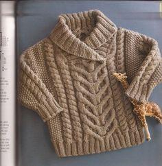 spousta návodů na pletení pro děti AJ