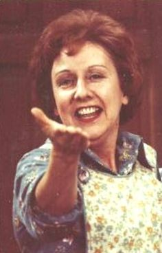 Jean Stapleton as Edith Bunker from All In The Family... classic.