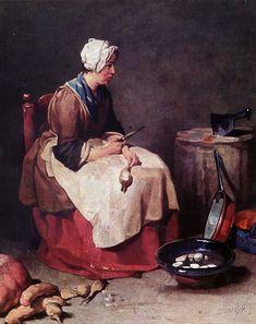 Jean-Baptiste-Siméon Chardin - 1738
