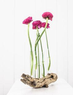 DIY Driftwood Vase | DIY Treibholz-Vase by http://titatoni.blogspot.de/